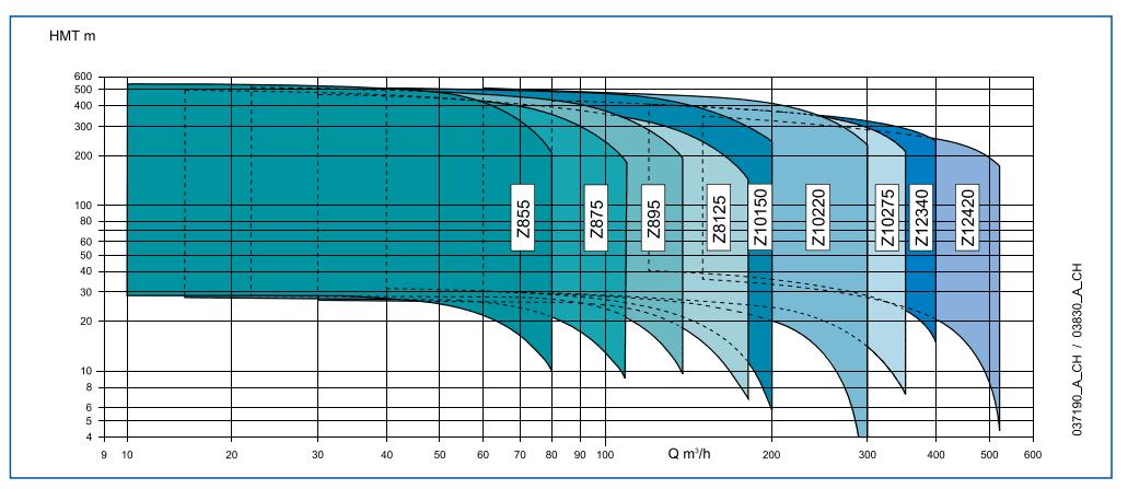 plage performance LOWARA 8pouces