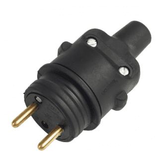 Prise électrique male 2P+T / 16A 220V #1