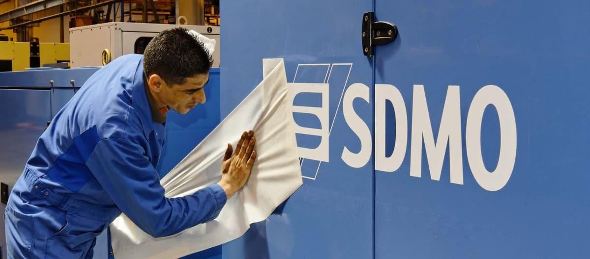 Groupe electrogene SDMO usine