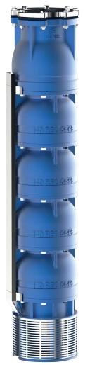 Hydraulique pompe 6 pouces