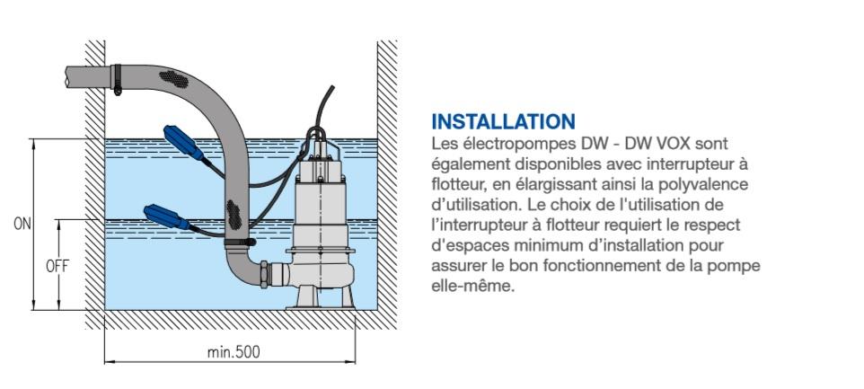 DW VOX installation