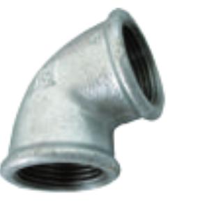 COUDE GALVA 90° PN 25 - F/F