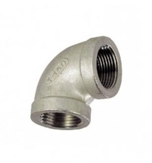 Coude Inox 316 L - FF 90°