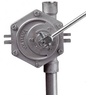 Pompe manuelle rotative - série RI