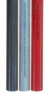 Tube acier galvanisé à bout lisse (Tarif 3) sans soudure en barre de 6.15 m
