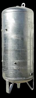 Réservoirs galvanisés RG6 CALPEDA - 6 Bars