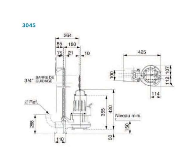 Screenshot 2020 05 20 Pompe de relevage Flygt DP 3045 MT 234 Mono Hydrolys