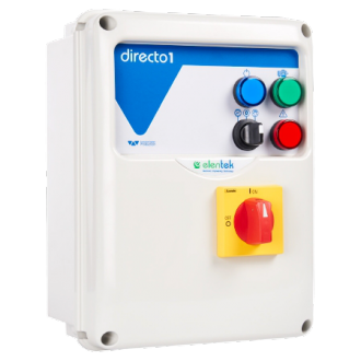 Coffret electrique de commande et de protection pour 1 pompe triphasée - DIRECTO 1