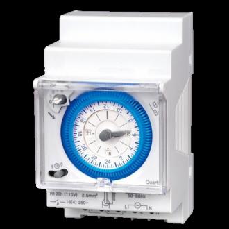 Horloge modulaire journaliere sans réserve de marche