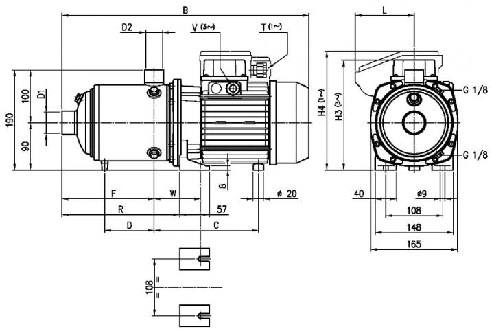 Screenshot 2020 10 16 HORIZONTAL MULTISTAGE PUMPS  Ebara Matrix 2 poles 50 en L pdf(1)