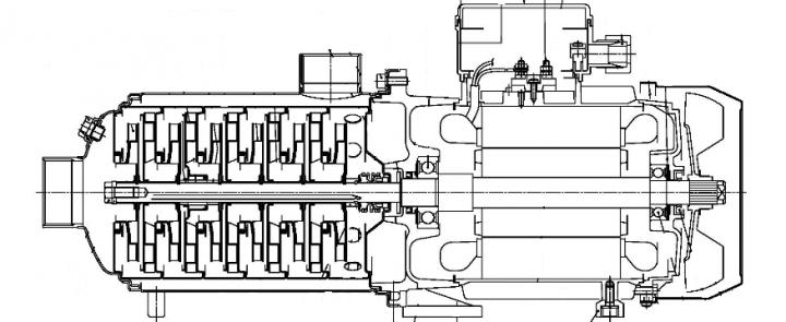 Screenshot 2020 10 16 HORIZONTAL MULTISTAGE PUMPS  Ebara Matrix 2 poles 50 en L pdf