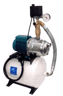 Surpresseur CALPEDA K24LGW SP et  K24HGW SP - réservoir à diaphragme