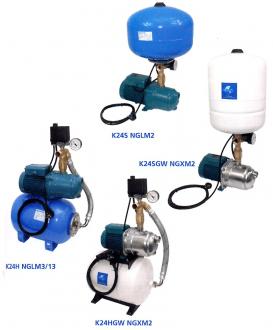 Surpresseur CALPEDA K24LGW SP et  K24HGW SP - réservoir à diaphragme #3