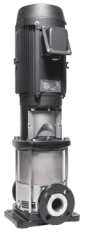 Pompe EBARA série EVMSLF 1 - Débit Maxi 2,4 m³/h - Brides folles en inox AISI 304 - 400 V