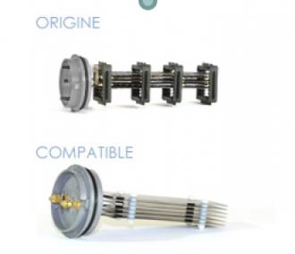 Cellules compatibles pour électrolyseur STERILOR : Enduro - Pool rite - Stériblue - Stériphor / AKS Autonettoyant