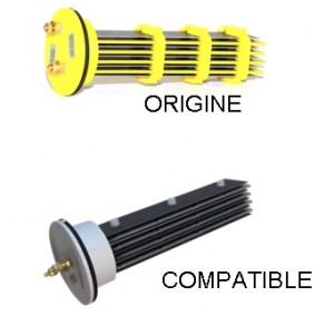 Cellules compatibles pour électrolyseur PACIFIC SEL: JD sel,  Magiline sel, Alpina, Energy sel, Euro sel, Desjoyaux