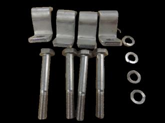 Kit de fixation au sol pour stations de relevage  MICRO6 et MICRO 6+6