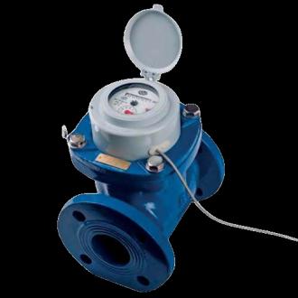 Compteur d'eau tangentiel Woltmann à bride - Classe R20 et R80 - DN 50 à DN 150 - PN 16