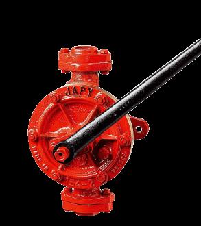 Pompe manuelle semi-rotative - série BP