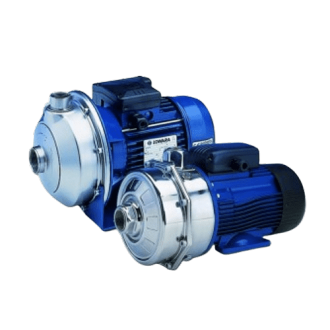 Pompes de surface LOWARA série CEA - débit maxi 18 m³/h