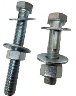 Boulon tête hexagonale pour serrage de bride acier et PVC