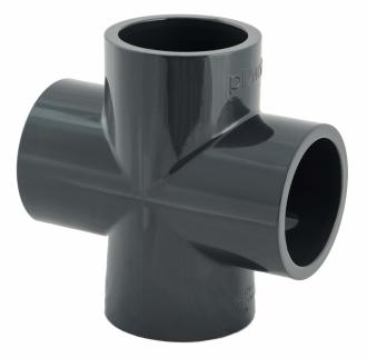 Croix PVC pression