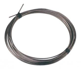 Câble inox souple de 4 mm² - Acier inox AISI 316 (le m)
